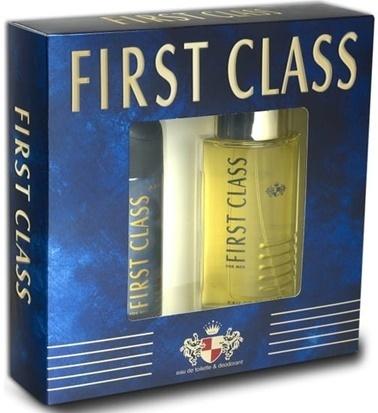 First Class First Class Edt 100Ml+Deo150Ml Erkek Parfüm Set Renksiz